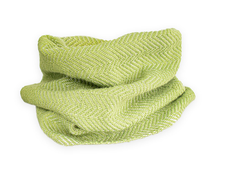 Cuello verde en espigas