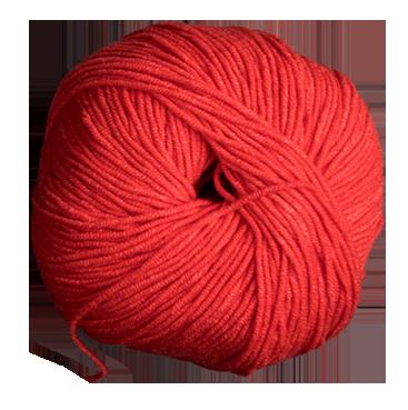 Ovillo de lana.