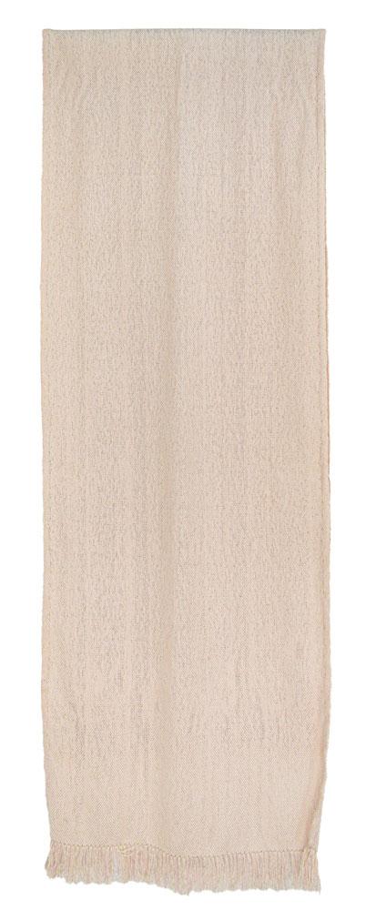 Bufanda de seda en color piedra.