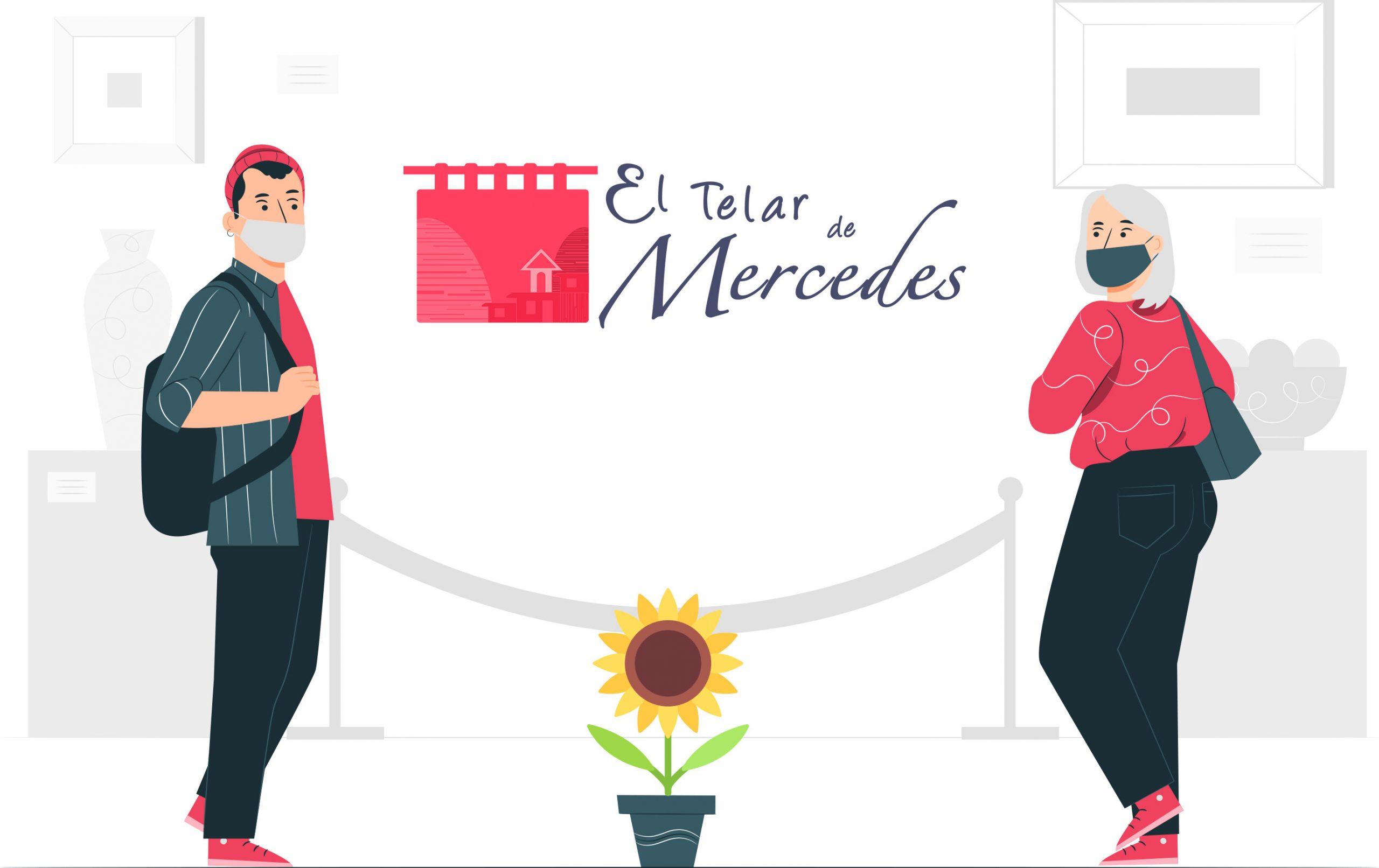 El telar de Mercedes cumple la normativa Covid-19
